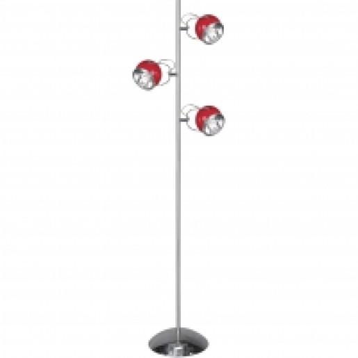 Lampa podłogowa Ball czerwona, Spot Light, 1509006