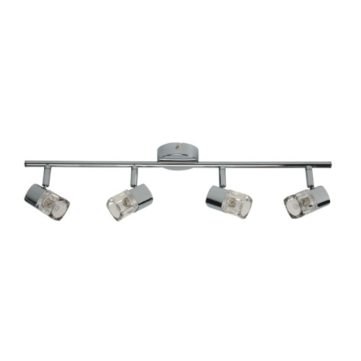 Lampa sufitowa 4pł plafon CRISTALL 2042428L Spot Light