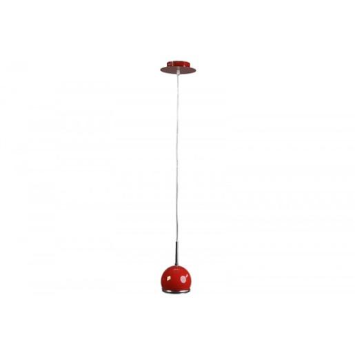 Lampa wisząca Ball czerwona, Spot Light, 2686012
