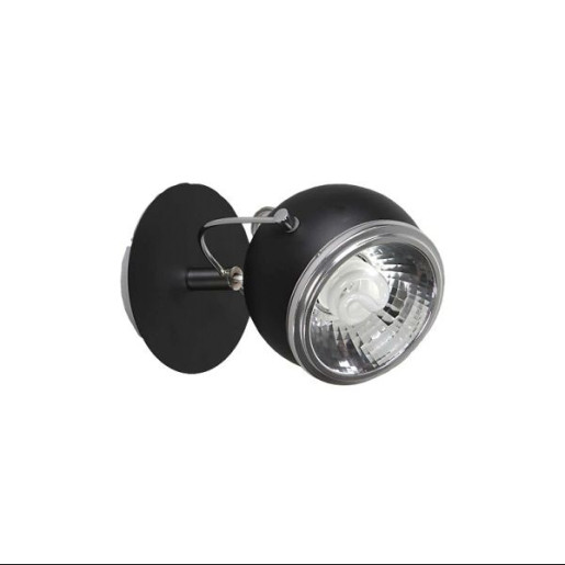 Kinkiet Ball 2 czarny, Spot Light, 2686104
