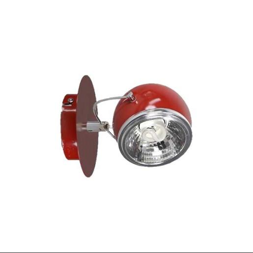 Kinkiet Ball 2 czerwony, Spot Light, 2686112