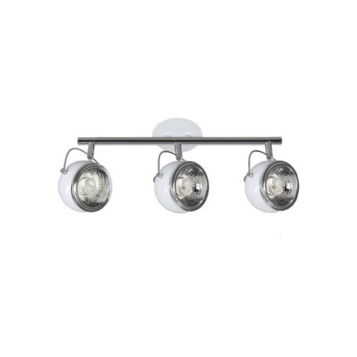 Listwa 3-płomienna Ball biała, Spot Light, 2686302