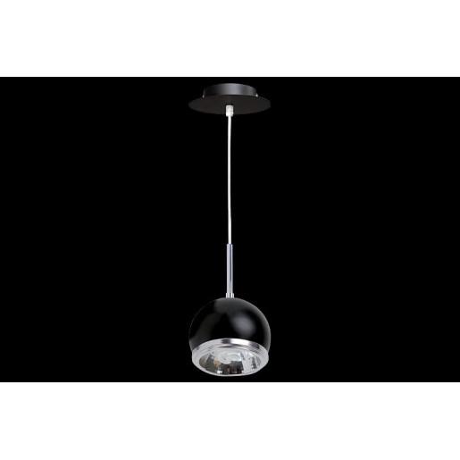 Lampa wisząca Ball czarna, Spot Light, 5009114