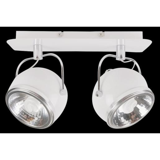 Lampa sufitowa 2-płomienna Ball biała, Spot Light, 5009202