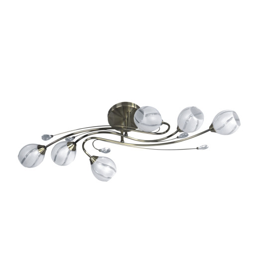 Lampa sufitowa ALANIS VI zwis 5073611 patyna Spot Light