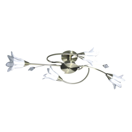 Lampa sufitowa MARBELLA IV zwis 5078411 patyna Spot Light