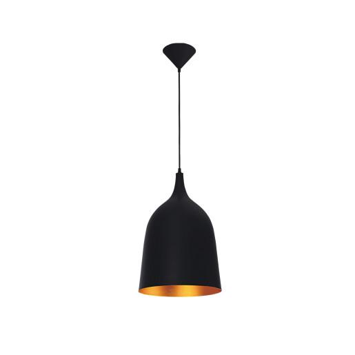 Lampa wisząca TUBA black/gold 5181104 Spot Light