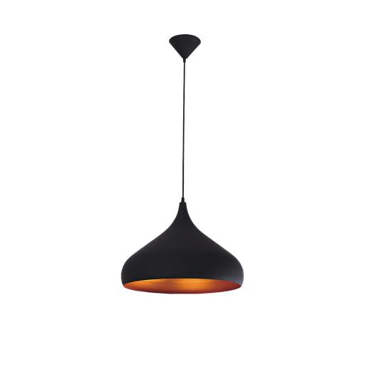 Lampa wisząca TUBA black/gold 5182104 Spot Light