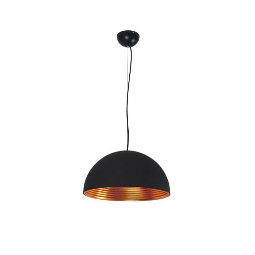 Lampa wisząca TUBA black/gold 5184104 Spot Light