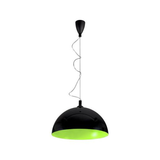 Lampa wisząca HEMISPHERE BLACK-GREEN FLUO L 5766 Nowodvorski