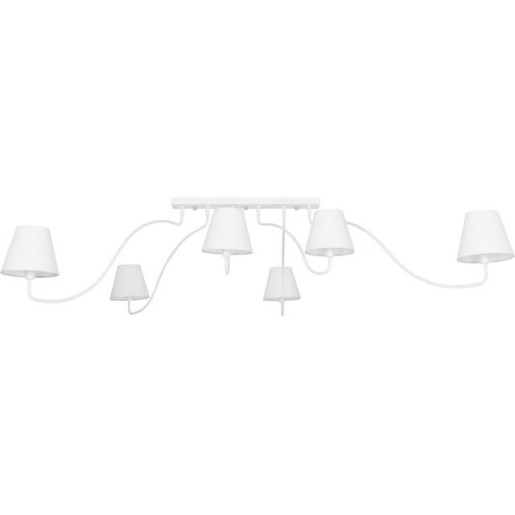 Plafon SWIVEL WHITE sześciopunktowy 6546 Nowodvorski