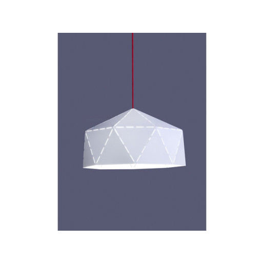 Lampa wisząca DIAMOND WHITE - RED 6617 Nowodvorski