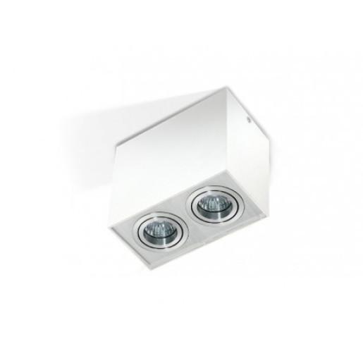 Lampa techniczna Eloy 2 White/Alu AZzardo