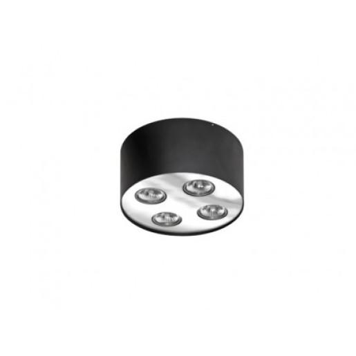 Lampa natynkowa Neos 4 Black/Chrome  AZzardo