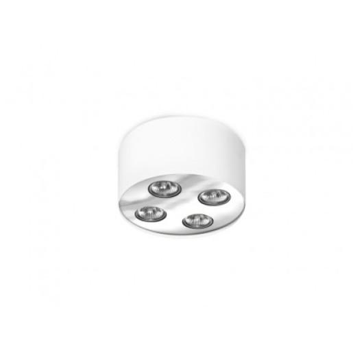 Lampa natynkowa Neos 4 White/Chrome  AZzardo