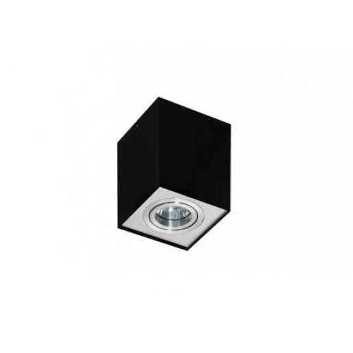 Lampa techniczna Eloy 1 Black/Alu AZzardo
