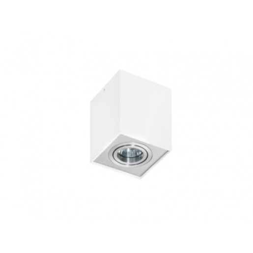 Lampa techniczna Eloy 1 White/Alu AZzardo