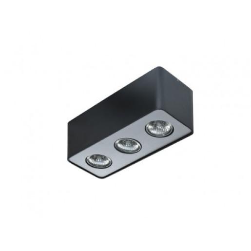 Lampa techniczna Nino 3 Black/Chrome  AZzardo