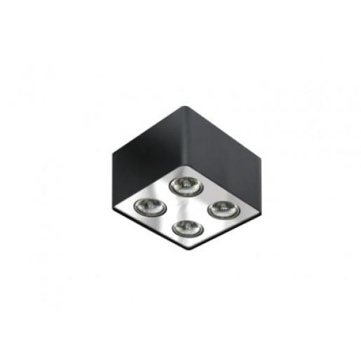Lampa techniczna Nino 4 Black/Chrome  AZzardo