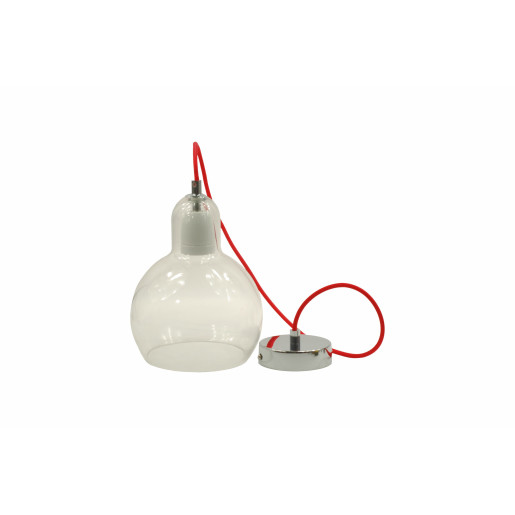 Lampa wisząca GAMMA 1 ze szklanym kloszem