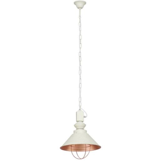 Lampa wisząca LOFT entique ecru I zwis 5048 Nowodvorski