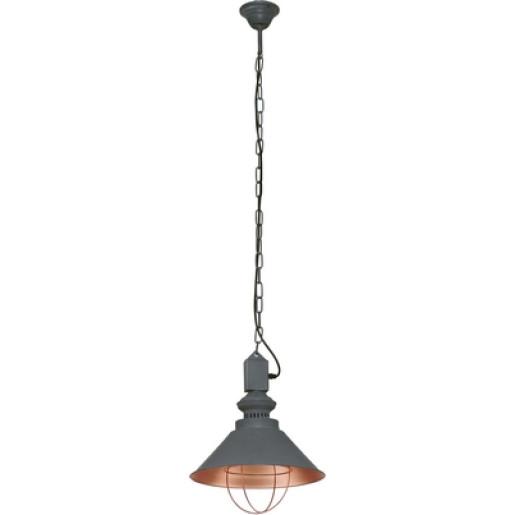 Lampa wisząca LOFT taupe I zwis 5053 Nowodvorski