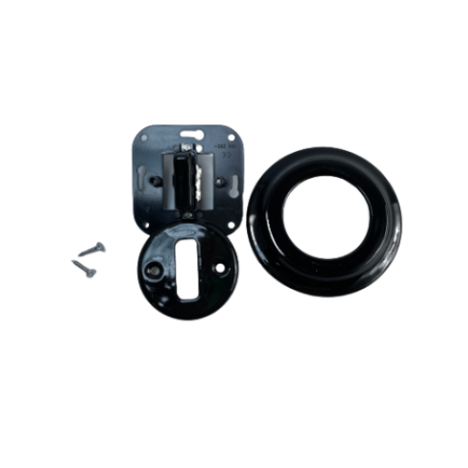 ANTICA NEW schodowy włącznik czarny podtynkowy K1- R120Q BLACK