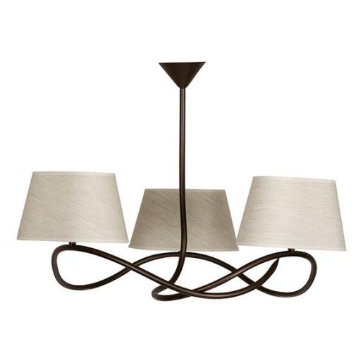 Lampa wisząca SENSO 3 plafon jasny 16311 SIGMA