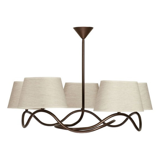 Lampa wisząca SENSO 5 plafon jasny 17307 SIGMA
