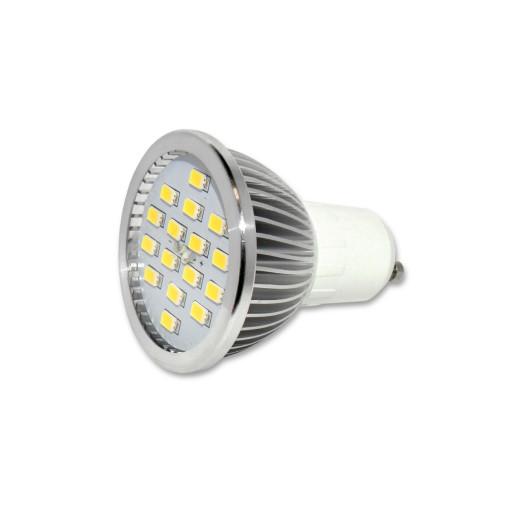 Żarówka LED GU10 Barwa Ciepła SMB16  6W Lumenmax