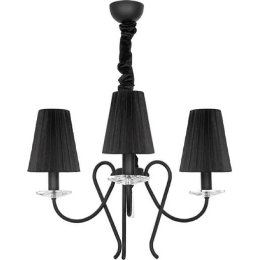 Lampa wisząca TROPEA black III zwis 5206 Nowodvorski
