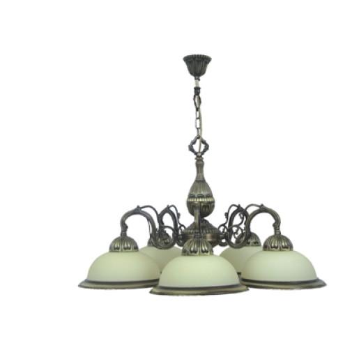 Lampa wisząca / żyrandol SALOMEA  ZK-5/761/P/BERET ALLADYN