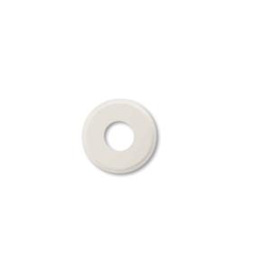 Drewniana podstawa okrągła z frezem, biały, GiGambarelli,01124
