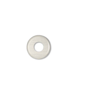 Drewniana podstawa okrągła, biały, GiGambarelli,01125