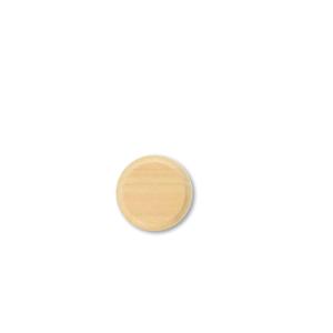 Drewniana podstawa okrągła z frezem, surowy, GiGambarelli,01106