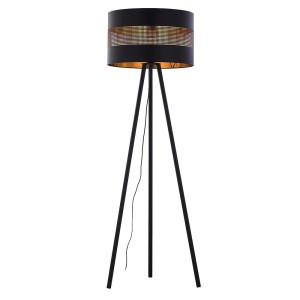 LAMPA PODŁOGOWA TAGO BLACK 5053 TK LIGHTING