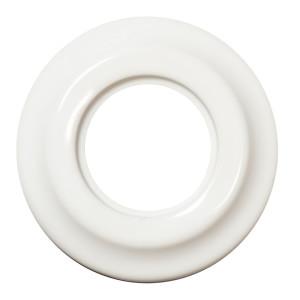 Ceramiczna Ramka Pojedyńcza Podtynkowa Biała