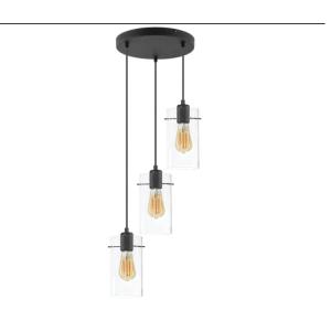 Lampa wisząca FIRENZE NEW transparentna 3496 TK Lighting