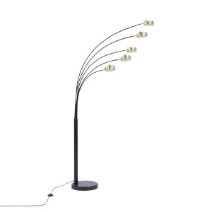 TS-5805-BKBB ZODIAC LAMPA PODŁOGOWA CZARNA