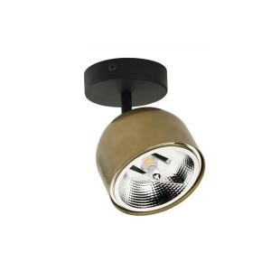 ALTEA BLACK/GOLD LAMPA SUFITOWA 1 PŁ  3424