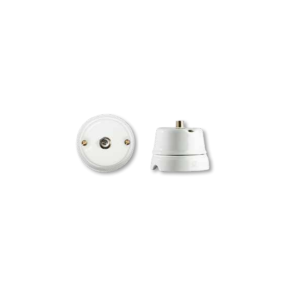 Porcelanowe gniazdo natynkowe satelitarne , GiGambarelli, 00242