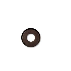 Drewniana podstawa okrągła z frezem, orzech, GiGambarelli,01122