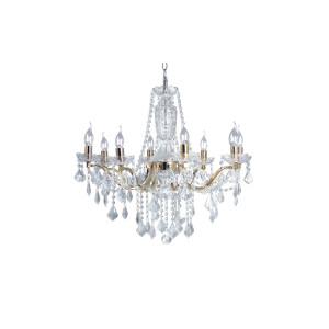 Lampa wisząca żyrandol złoty 8pł ODESSA 5090812 Spot Light