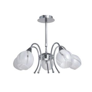 Lampa wisząca żyrandol LUCCA V zwis 5112528 Spot Light