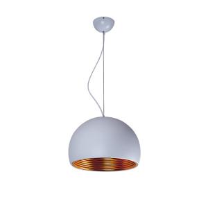 Lampa wisząca TUBA white/gold 5183102 Spot Light