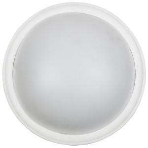 VATAN LAMPA SUFITOWA PLAFON 30 1X11W E27 PLASTIK ENERGO (W KOMPLECIE) BIAŁA