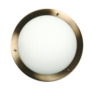 AQUILA LAMPA SUFITOWA PLAFON 32 1X60W E27 PATYNA IP44