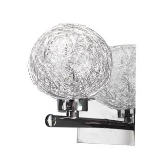 SPHERE LAMPA KINKIET 1X40W G9 CHROM