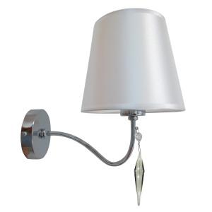 ANSA LAMPA KINKIET 1X60W E27 CHROM