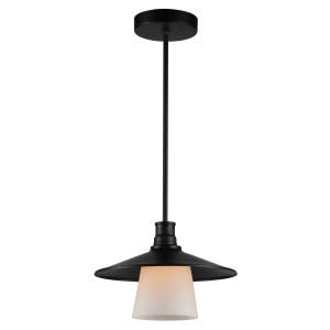 LOFT LAMPA WISZĄCA 1X60W E27 CZARNY